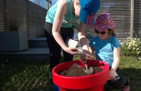 Barna sår sine egne frø